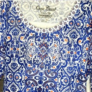 Onque Casuals Tops - Onque Casuals embellished top size XL